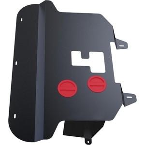Защита картера и КПП АвтоБРОНЯ для Fiat Doblo (2006-2015), сталь 2 мм, 111.01702.2