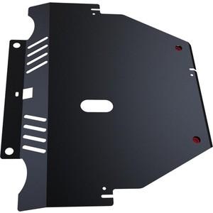 Защита картера и КПП АвтоБРОНЯ для Ford Mondeo (2007-2010), S-Max (2006-2010), сталь 2 мм, 111.01808.1 защита ford mondeo 4 2007 кроме 2 5 volvo s80 2006 xc60 2008 картера и кпп standart plus