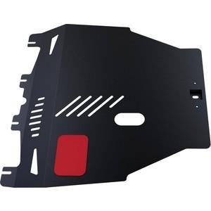 Защита картера и КПП АвтоБРОНЯ для Honda Civic хэтчбек 5-дв. (2006-2012), сталь 2 мм, 111.02103.1