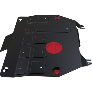 Защита картера и КПП АвтоБРОНЯ для Honda CR-V (2012-2015), сталь 2 мм, 111.02130.1