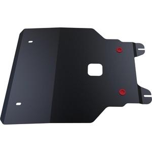 Защита картера и КПП АвтоБРОНЯ для Honda Jazz (2008-2015), сталь 2 мм, 111.02107.1