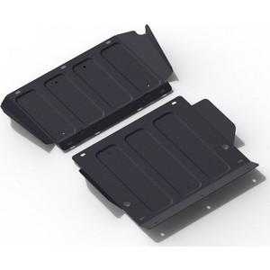 Защита картера и КПП АвтоБРОНЯ для Hyundai H1 (1997-2004) / Starex (1997-2004), сталь 2 мм, 111.02325.1