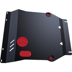 Защита картера и КПП АвтоБРОНЯ для Kia Soul (2009-2014), сталь 2 мм, 111.02806.2