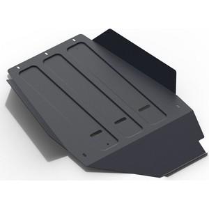 Защита КПП АвтоБРОНЯ для Lexus LX (1998-2007) / Toyota Land Cruiser 100 (1998-2007), сталь 2 мм, 111.05753.1