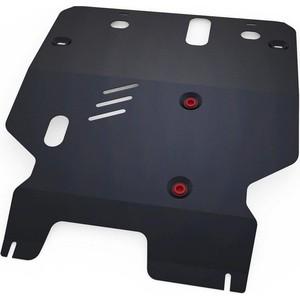 Защита картера и КПП АвтоБРОНЯ для Mitsubishi Galant 4WD (1996-2005), сталь 2 мм, 111.04029.1
