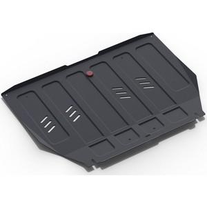 Защита картера и КПП АвтоБРОНЯ для Nissan Maxima АКПП (2000-2005), сталь 2 мм, 111.04168.1