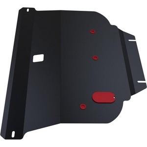Защита картера и КПП АвтоБРОНЯ для Nissan Primera (2002-2008), сталь 2 мм, 111.04128.1