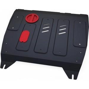 Защита картера и КПП АвтоБРОНЯ для Nissan Sentra АКПП (2014-2017), Tiida (2015-2016), сталь 2 мм, 111.04151.1