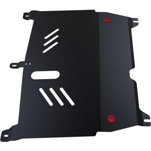 Защита картера и КПП АвтоБРОНЯ для Peugeot 107 (2007-2015), сталь 2 мм, 111.04302.1