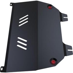 Защита картера и КПП АвтоБРОНЯ для Peugeot 307 (2001-2008), сталь 2 мм, 111.04304.1