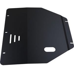 Защита картера и КПП АвтоБРОНЯ для Suzuki Swift (2004-2011), сталь 2 мм, 111.05506.1