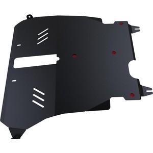 Защита картера и КПП АвтоБРОНЯ для Toyota Ipsum FWD (1996-2001), сталь 2 мм, 111.05725.1