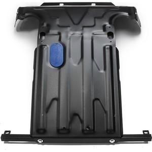Защита картера Rival для Chevrolet Niva (2002-2009 / 2009-н.в.), сталь 2 мм, без крепежа, 1.1017.1