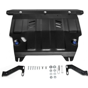 Защита картера и КПП Rival для Ford Ecosport I (2014-2018), сталь 2 мм, с крепежом, 111.1852.1