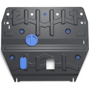 Защита картера и КПП Rival для Hyundai i40 I (2012-2015 / 2015-н.в.), сталь 2 мм, с крепежом, 111.2342.1
