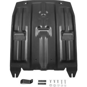 Защита картера и КПП Rival для Hyundai Tucson III (2015-2018 / 2018-н.в.) / Kia Sportage IV (2016-2018 / 2018-н.в.), сталь 2 мм, с крепежом, 111.2357.1 защита картера и кпп автоброня для hyundai tucson kia sportage 111 02312 1