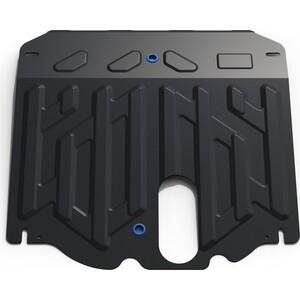 Защита картера и КПП Rival для Kia Sorento II рестайлинг (2012-н.в.), сталь 2 мм, с крепежом, 111.2823.1