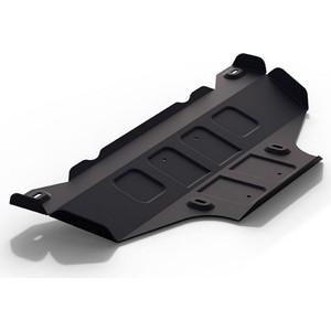Защита КПП Rival для Mercedes-Benz Sprinter Classic W909 RWD (2013-н.в.), сталь 2 мм, с крепежом, 111.3922.1