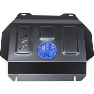 Защита радиатора и картера ч.2 Rival для Toyota Fortuner II 4WD (2017-н.в.) / Hilux VIII (2015-н.в.), сталь 2 мм, без крепежа, 1.9502.1