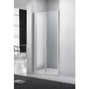 Душевая дверь BelBagno SELA B-2 100 Chinchilla, хром (SELA-B-2-100-Ch-Cr)