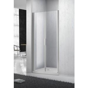 Душевая дверь BelBagno SELA B-2 110 прозрачная, хром (SELA-B-2-110-C-Cr) блузка женская sela цвет белый b 112 1394 9181 размер 46