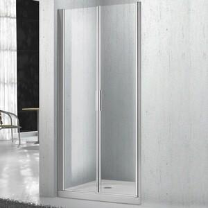 Душевая дверь BelBagno SELA B-2 60 прозрачная, хром (SELA-B-2-60-C-Cr)