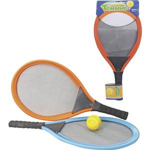 Игровой набор 1Toy Для тенниса, ракетки мягкие 27x54 см, мячик (Т59927)
