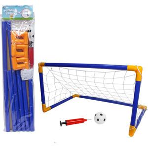 Игровой набор 1Toy Футбольные ворота 107х78х71см, мяч, насос, коробка (Т59935)