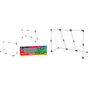 Игровой набор 1Toy Футбольные ворота ч/б 2-в-1: большие 139.5х91.3х48см, или двое маленьких 89.5х62х44см (Т59954) ворота футбольные сеткаопт складные 1 8х1 2м