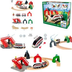 цена на Игровой набор Brio Smart Tech Железная дорога (33873)