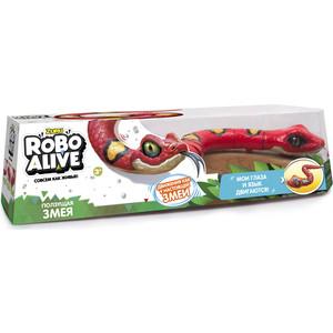 Интерактивная игрушка ROBO ALIVE Робо-змея(Красная) (Т10996)