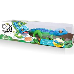 Интерактивная игрушка ROBO ALIVE Робо-ящерица (Син -Зел) (Т10993) фото
