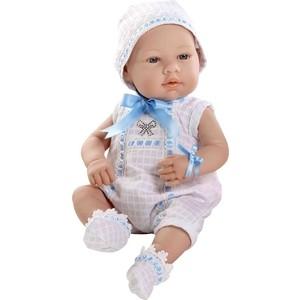 Кукла Arias ELEGANCE пупс винил.в бел./голуб.боди с цвет.стразами Swarowski в виде бантика,42см,кор. (Т59290)