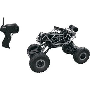 Машина РУ 1Toy Раллийная бигвил, 2,4GHz, 4WD, масштаб 1:43, скорость до 14км/ч, курковый пульт, амортизаторы, с АКБ, серо-черный (Т10948)
