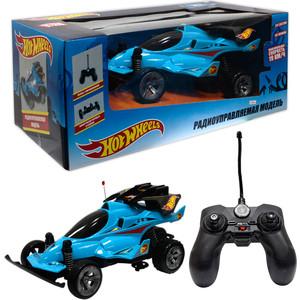 Машина РУ 1Toy Hot Wheels Багги, масштаб 1:20, cо светом и звуком, скорость до 19км/ч, с АКБ, синяя (Т10980)