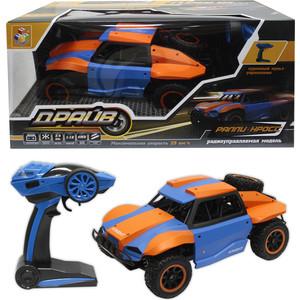 Машина РУ 1Toy Раллийная, 1:18, голубо-оранжевая (Т10969)