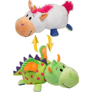 Мягкая игрушка 1Toy Вывернушка 40 см 2в1 Единорог-Дракон (Т10930)