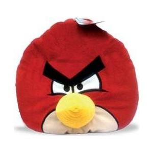 Мягкая игрушка Angry Birds Декоративная подушка красная птица Red Bird 30см (АВР12)