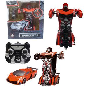 Трансформер 1Toy Робот на р/у , трансформирующийся в спортивный автомобиль, оранжевый (Т10858)
