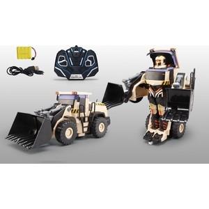 Трансформер 1Toy Робот р/у, трансформируется в экскаватор, со светом и звуком, 38см, коробка (Т10600) вертолет р у на аккум со светом 608 в русс кор в кор 12шт