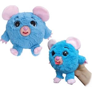 Мягкая игрушка 1Toy Дразнюка Zoo мышка, показывает язык, 13 см. (Т10350) м д филиппова динозавры