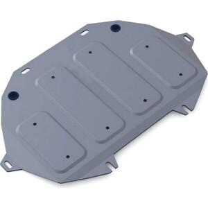 Защита картера Rival для Hyundai Genesis 4WD (2014-2017), G80 (2017-н.в.), G90 (2016-н.в.), алюминий 4мм, 333.2354.1