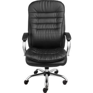 Кресло Алвест AV 118 СН МК (04) экокожа 223 черная кресло алвест av 113 ch 682 sl mk экокожа 223 черная