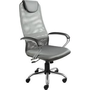 Кресло Алвест AV 142 CH (142 CH) MK кз TW сетка, сетка однослойная 311/454/479 черная/серая/темно-серая