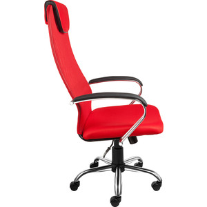 цена Кресло Алвест AV 142 CH (142 CH) MK кз TW сетка, сетка однослойная 311/457/474 черная/красн/ярко красная онлайн в 2017 году