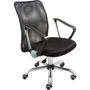 Кресло Алвест AV 217 CH (682 SL) комби сетка TW сетка 470/455 черная/черная кресло алвест av 113 ch 682 sl mk экокожа 223 черная