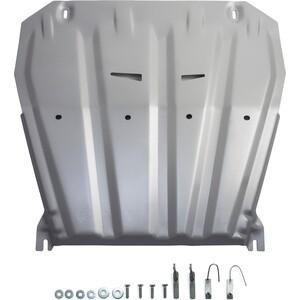 Защита картера и КПП Rival для Nissan Qashqai (сборка РФ) (2015-2019), X-Trail (2007-н.в.) / Renault Koleos (2008-н.в.), алюминий 4мм, 333.4158.1 for nissan qashqai x trail murano altima paladin new brand luxury soft pu leather car seat cover front