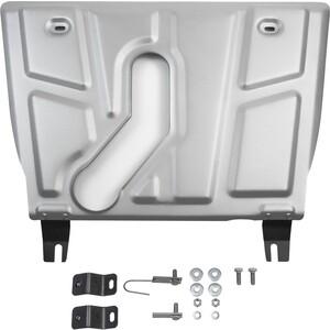 Защита картера и КПП Rival для Toyota Rav4 (2006-2010), АКПП (2010-н.в.) (с вырезом под глушитель), алюминий 4мм, 333.9506.1