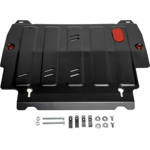 Защита картера и КПП АвтоБРОНЯ для Infiniti JX35 (2012-2013), QX60 (2013-н.в.) / Nissan Murano (2016-н.в.), Pathfinder (2014-2017), сталь 2 мм, 111.02415.2 2 2013