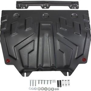 Защита картера и КПП АвтоБРОНЯ для Mazda 3 (2013-н.в.), 6 (2012-н.в.), CX-5 (2011-2017), CX-5 АКПП (2017-н.в.), CX-9 (2017-н.в.), сталь 2 мм, 111.03817.1